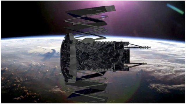 A Space X rocket
