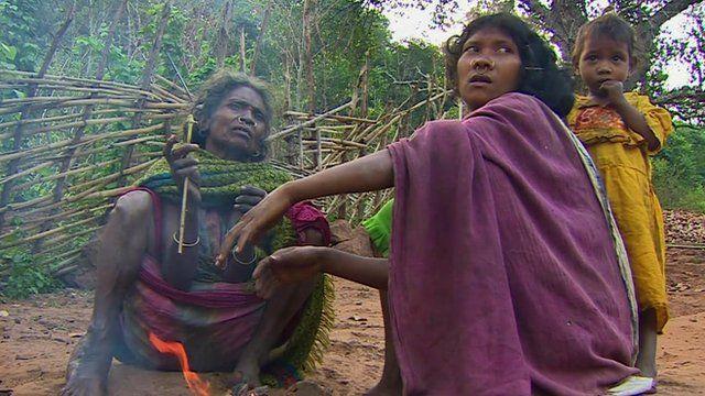 People in Niyamgiri hills