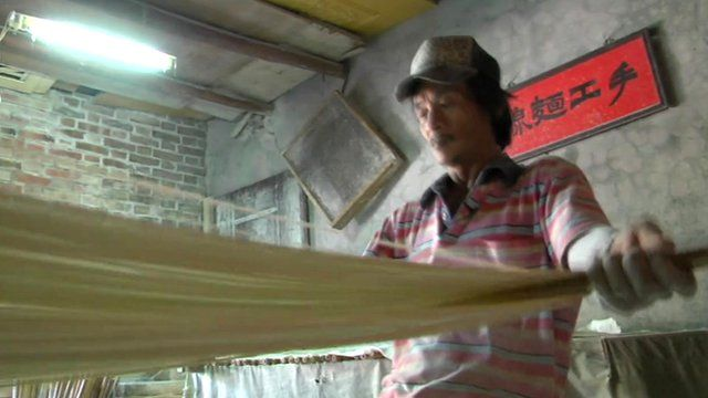 Traditional noodle-maker