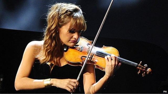 Nicola Benedetti's 'tough time' after Young Musician win