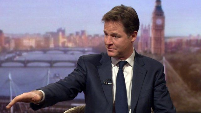 Nick Clegg on EU referendum