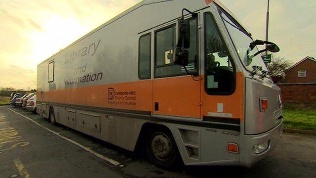 Mobile library van