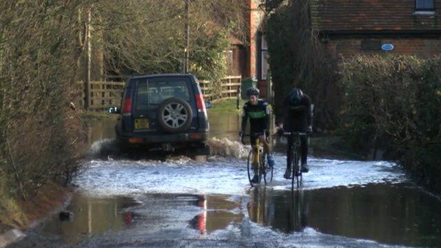 Flooding in Berkshire