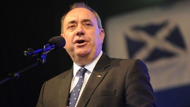 Alex Salmond, Scotland's First Minister