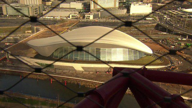 Aquatics Centre, Olympic Park