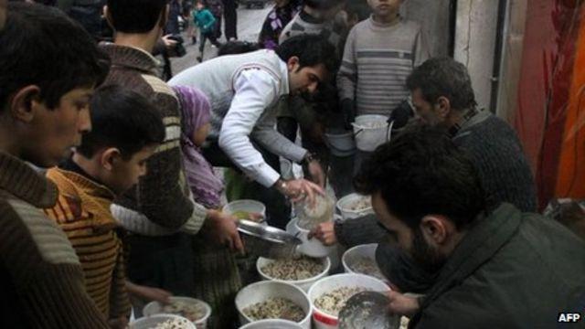 Syria conflict: Half population urgently need aid - UN