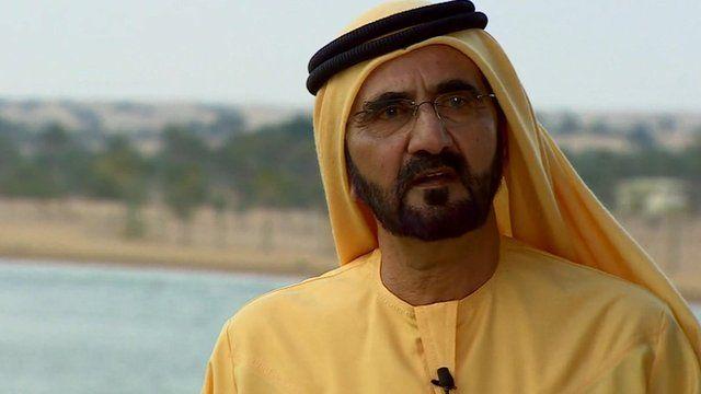 The ruler of Dubai, Sheikh Mohammed Bin Rashid Al Maktoum