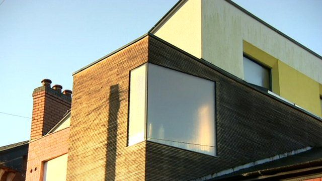 Energy efficient terraced house