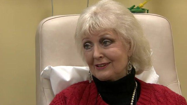 Cancer patient Sophie Cotton