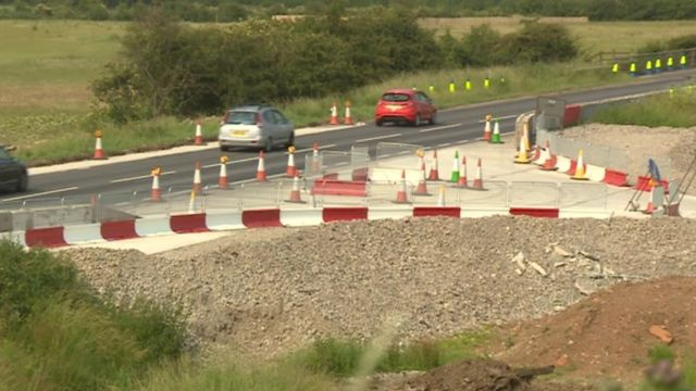 A453 widening project is due to be completed in early summer 2015