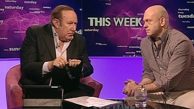 Andrew Neil and Ross Kemp