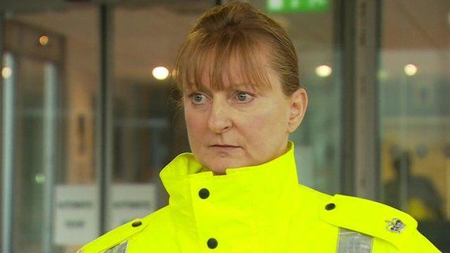 Supt Liz McAinsh of Police Scotland
