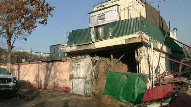 Kabul restaurant bomb