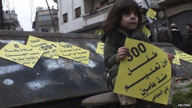 Syria Geneva II peace talks highlight gulf over Assad