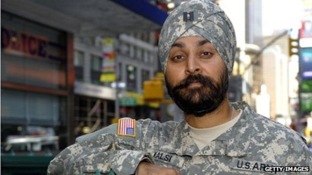US military relaxes uniform rules for religious wear