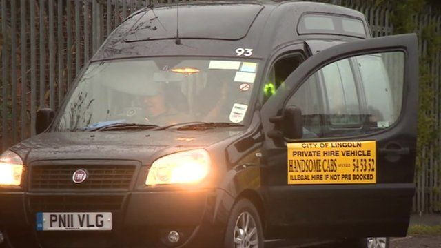 Lincolnshire County Council spends £7,000 a year on taxis to transport staff about 160m