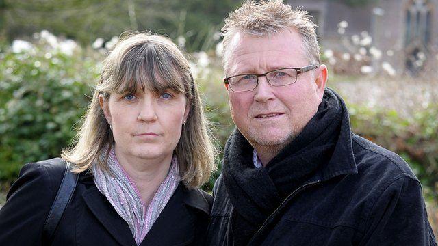 Yolande and Steve Turner, parents of Sean Turner