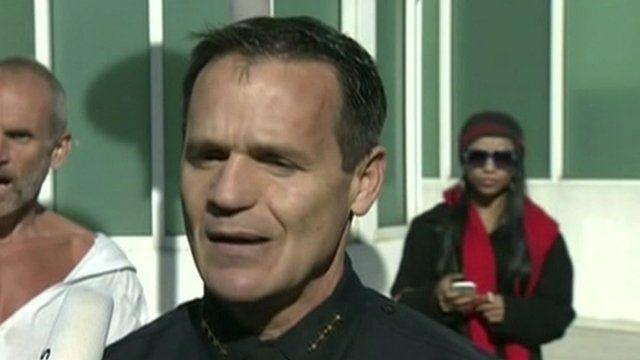 Miami Beach police chief Ray Martinez