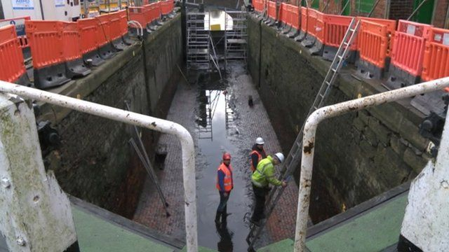 Canal and River Trust said it has to keep the 250-year-old canal working