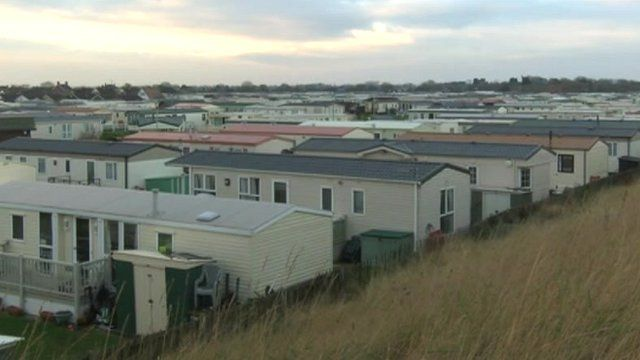 Thousands of caravans and static homes were damaged along the East Coast after the December tidal surge