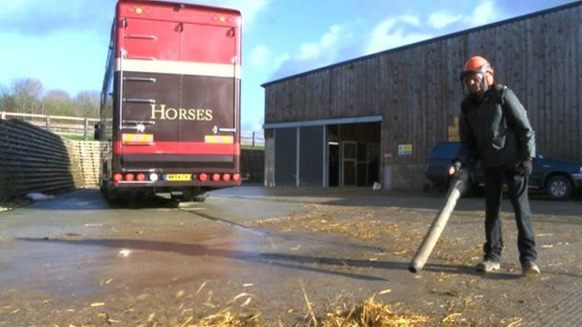 Working in stables