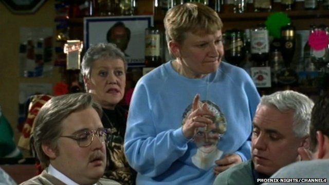 Janice Connolly in Phoenix Nights
