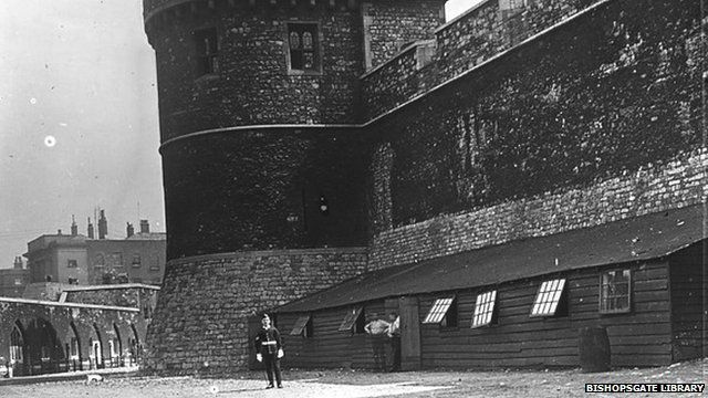 Tower of London firing range in 1910