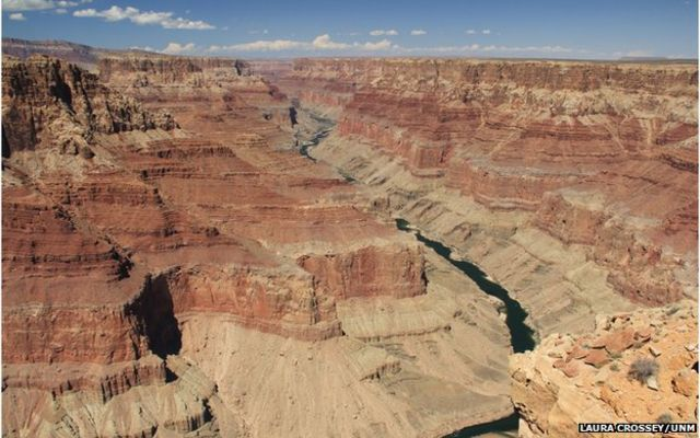 Grand Canyon 'formed recently'