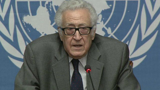 UN envoy Lakhdar Brahimi