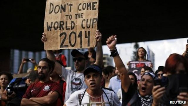 Brazil probes police shooting of man after World Cup protest