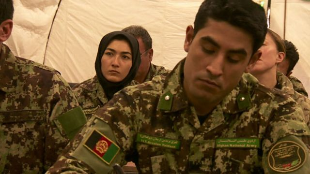 Equality for women at Afghanistan's officer academy