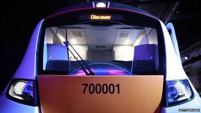 New Thameslink train