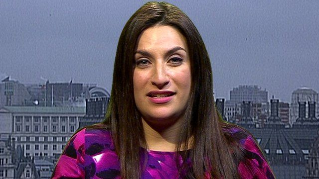 Shadow public health minister Luciana Berger