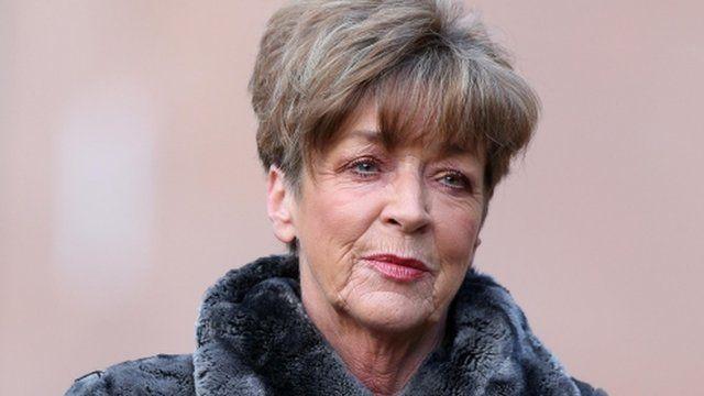 Coronation Street actress Anne Kirkbride arrives at Preston Crown Court
