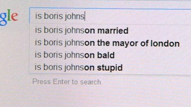 Search engines and what web users ask about MPs
