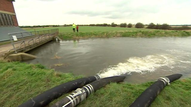 Pumping water in East Kent