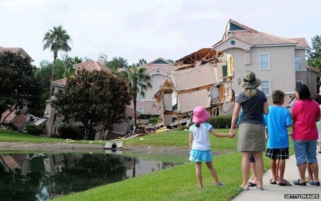 Sinkholes: A deadly threat from Florida's 'underworld'