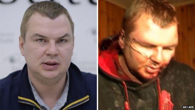 Beaten protest leader Dmytro Bulatov leaves Ukraine