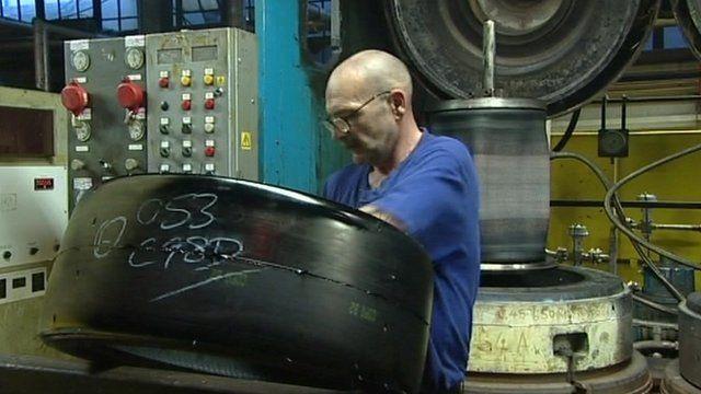 Dunlop worker