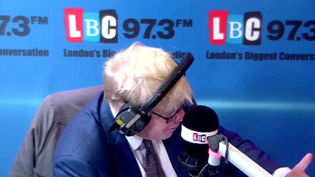 Boris Johnson on LBC
