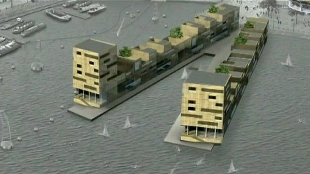 One of the buildings planned for Middlehaven in 2006