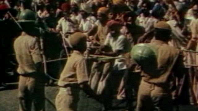 File image of Operation Blue Star clashes