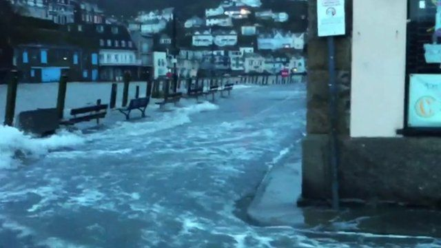 Harbour at Looe