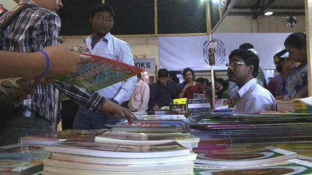 Calcutta book fair