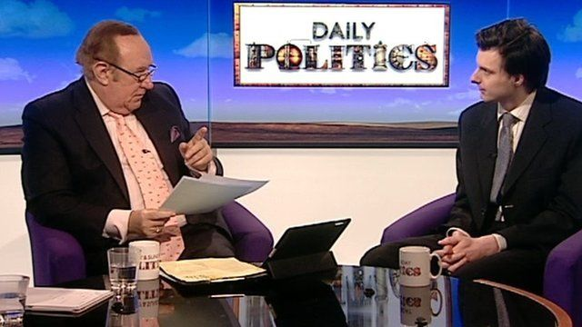 Andrew Neil and Full Fact's Will Moy
