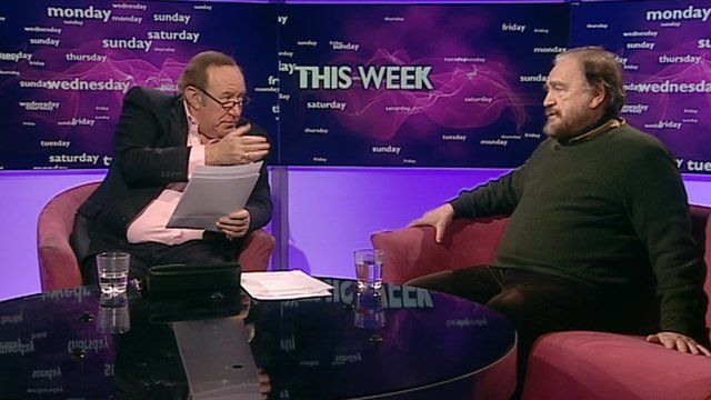 Andrew Neil and Brian Cox