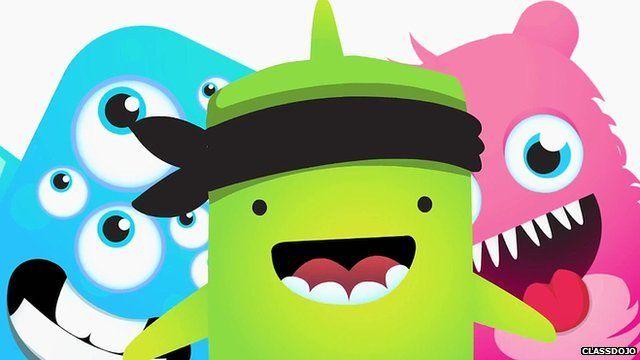 Characters from the ClassDojo app