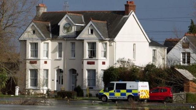 Boy, seven, dies as Chertsey homes evacuated