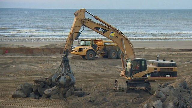 Work to protect Dutch coast from storm surge