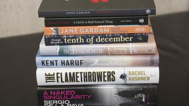 Books in the Folio shortlist